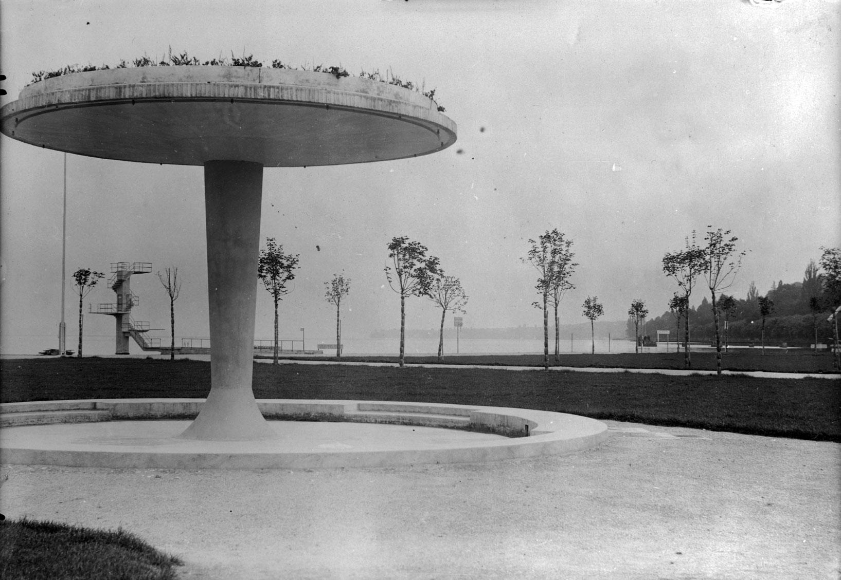 Genève-Plage 1932 ©Centre d'iconographie genevoise