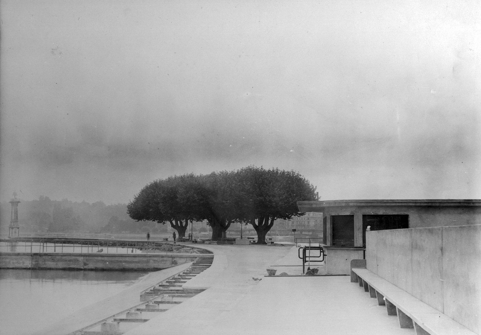 Bains des Pâquis 1932 ©Centre d'iconographie genevoise