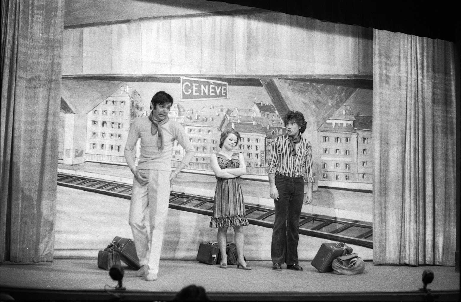 Revue 1971 ©Centre d'iconographie genevoise